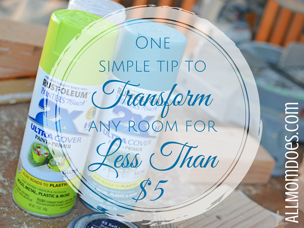 One Simple Tip To Transform Any Room For Less Than $5