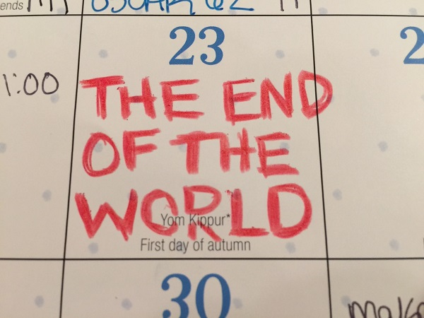 Did You Know the World is Ending Today?