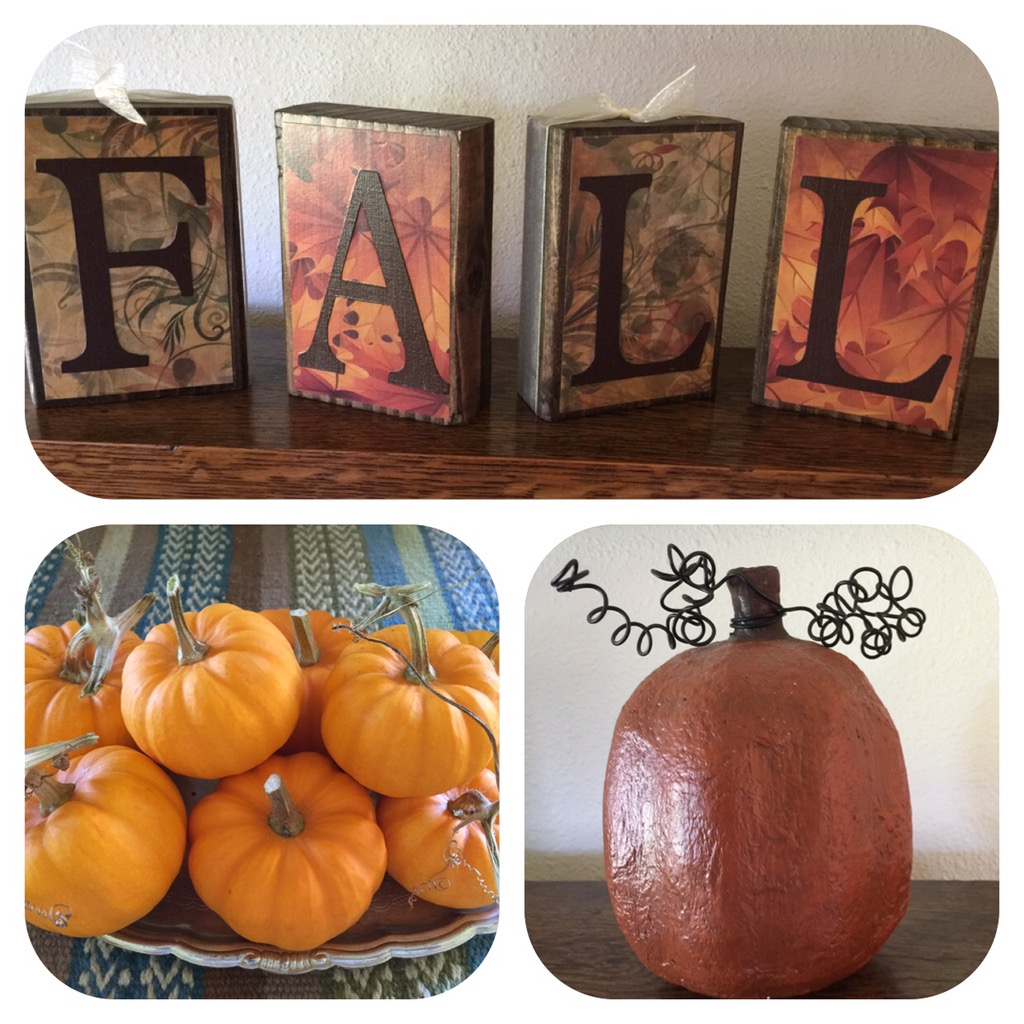 Decorating for Fall My Own Way