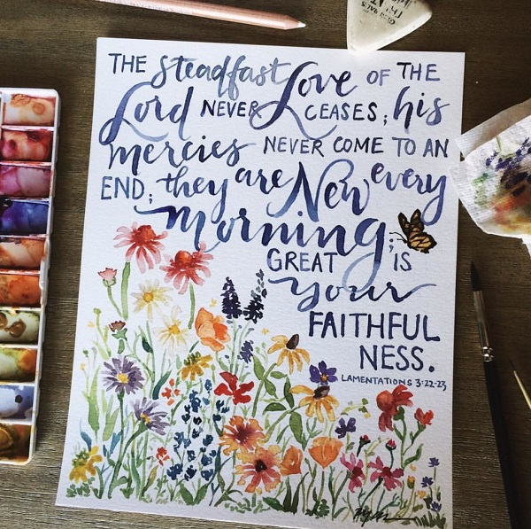 Great is Your Faithful...Mess?