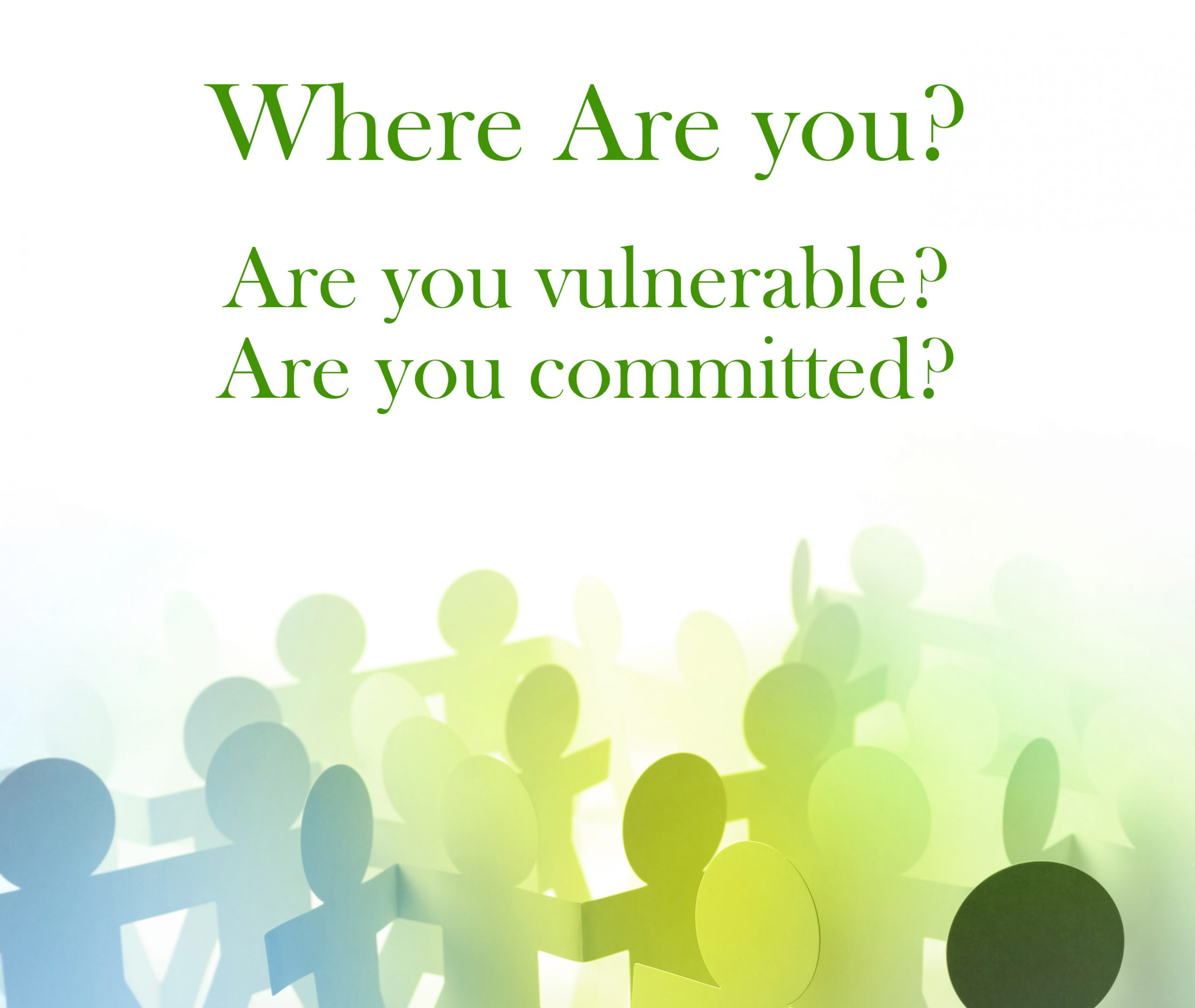 Two Necessities for Healthy Community – Do You Have Them?