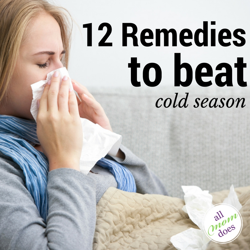 12 Remedies to Beat Cold Season