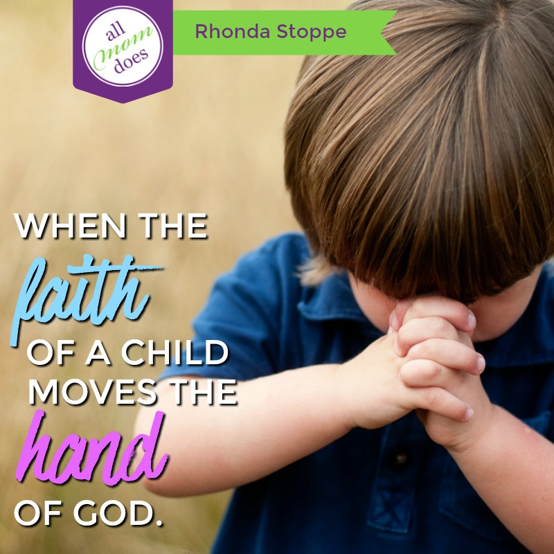 When the Faith of a Child Moves the Hand of God