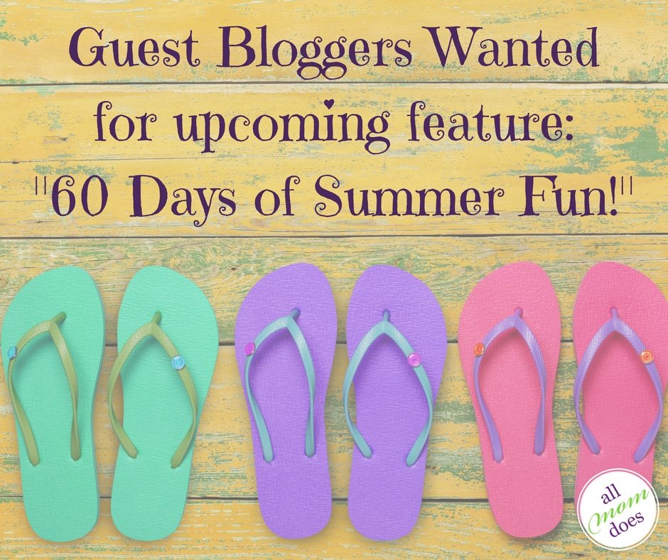 Seeking Contributors for 60 Days of Summer Fun