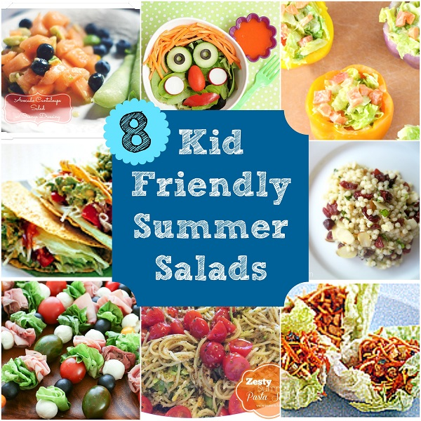 8 Summer Salads That Even the Kids Will Eat