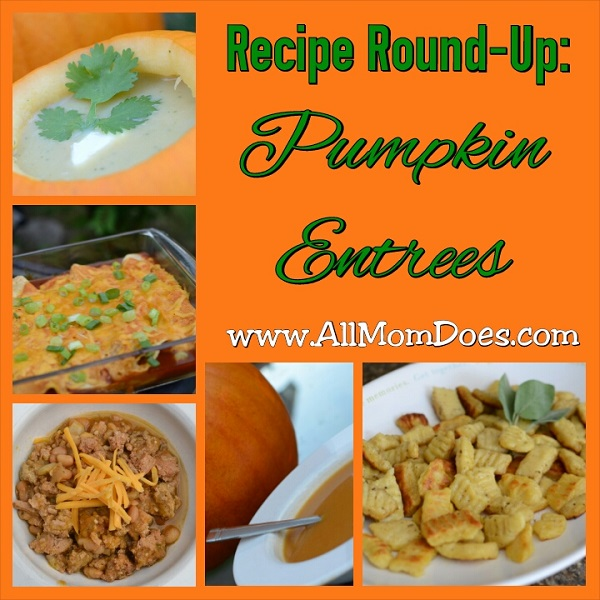 Recipe Round-Up:  Five Pumpkin Entrees