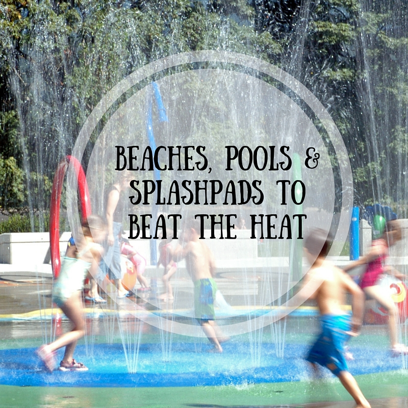 Washington Splashpads, Wading Pools & Beaches to Beat The Heat