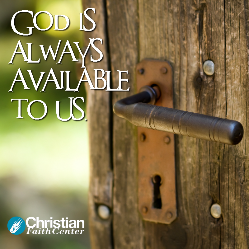 There Is No On-Hold Button With God