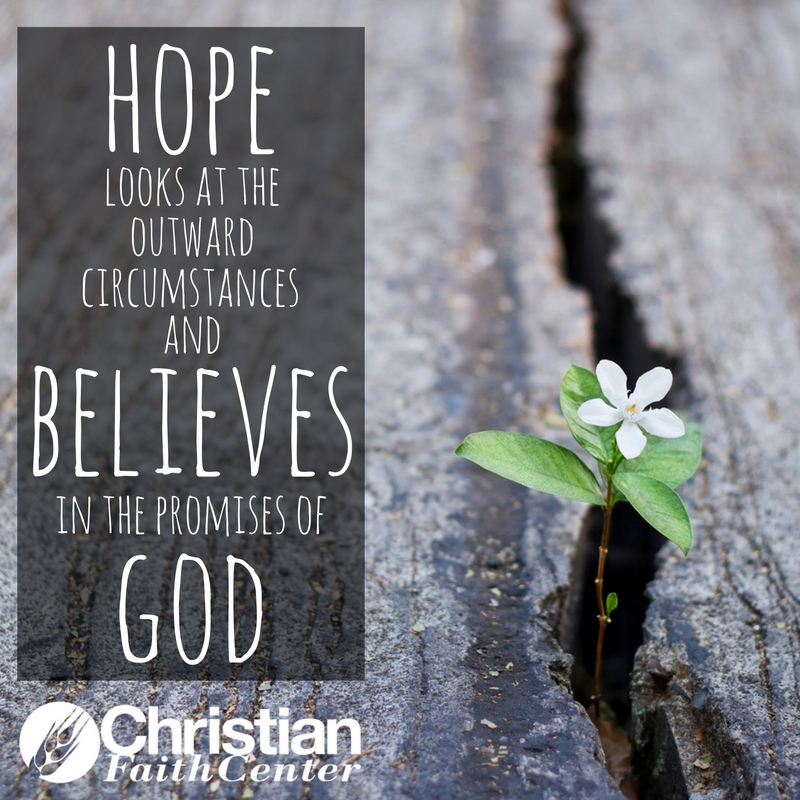 YOU Can Have Hope–Part 1