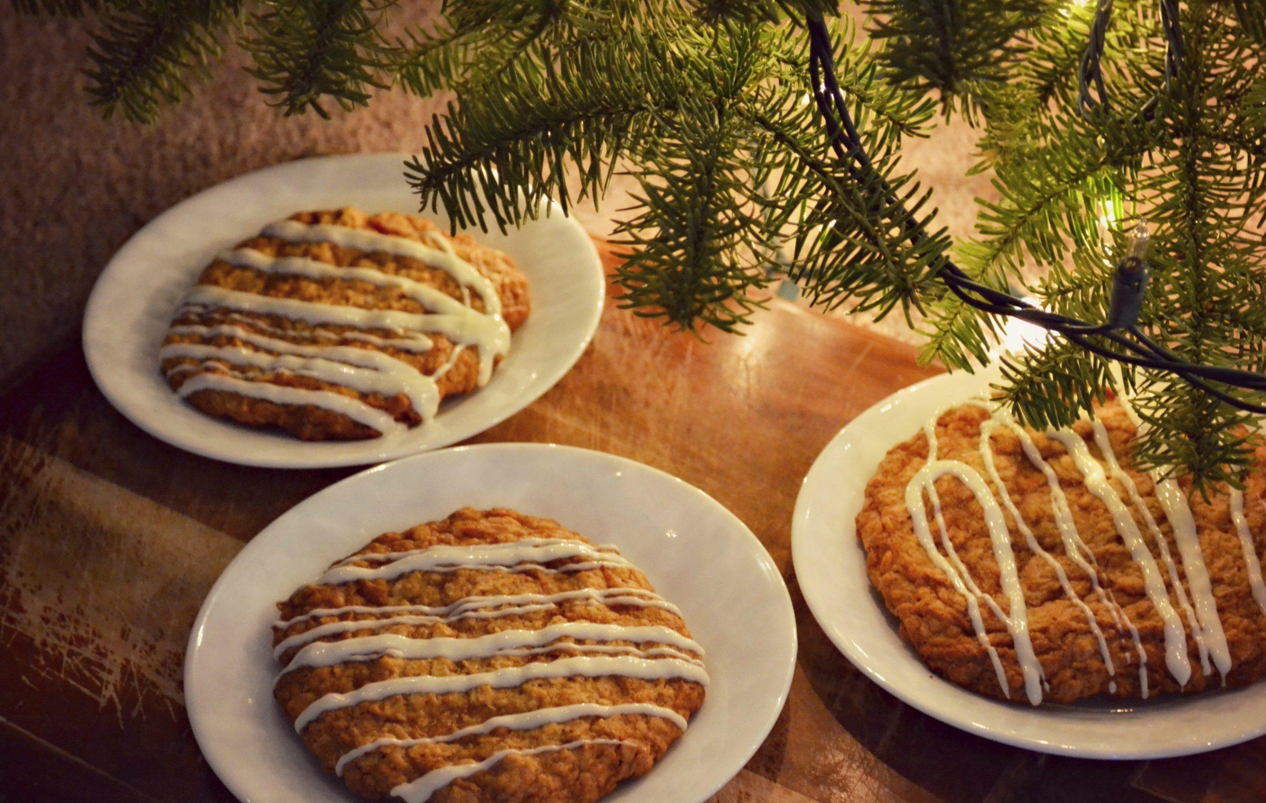 Butterscotch Pecan Monster Cookies