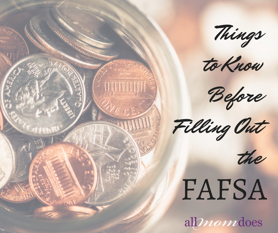 Things to Know Before Filling Out the FAFSA