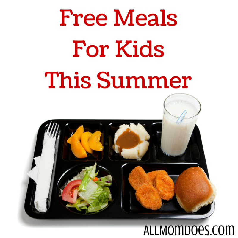 Free Meals For Kids This Summer