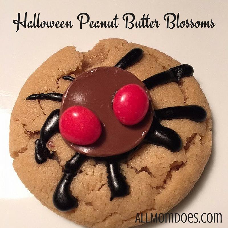Halloween Peanut Butter Blossoms