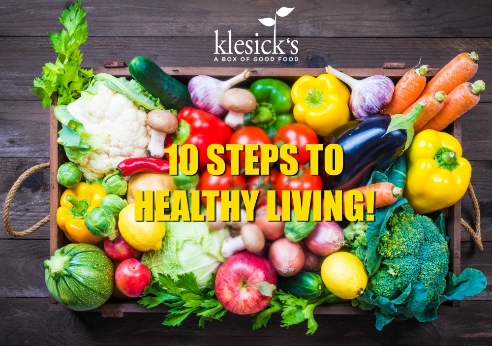 10 Steps to Healthy Living
