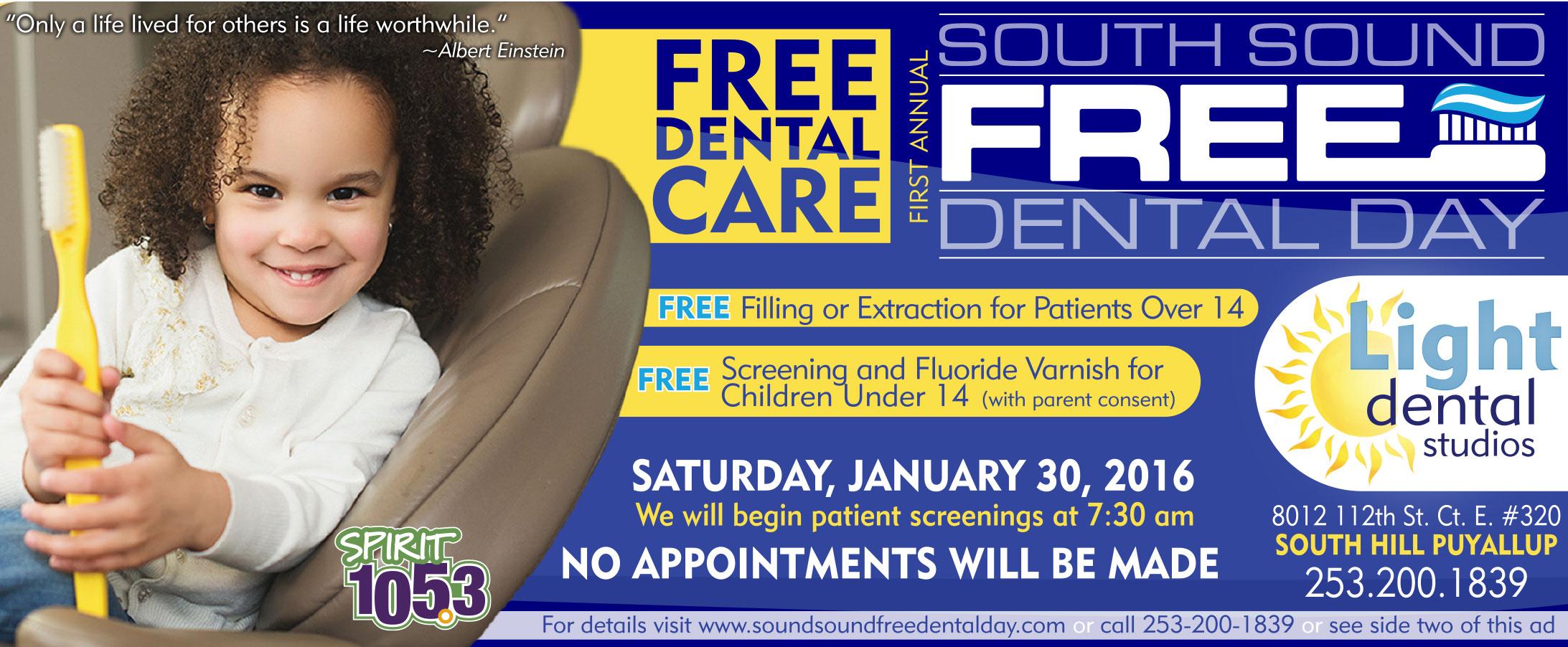 FREE Community Dental Day