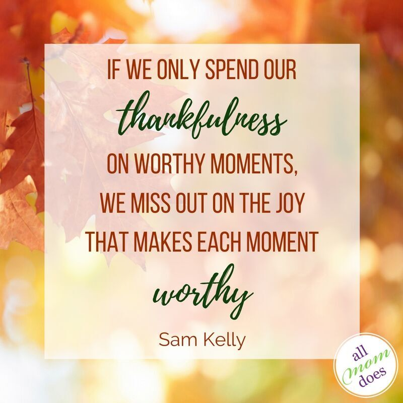 The Practice of Thankfulness