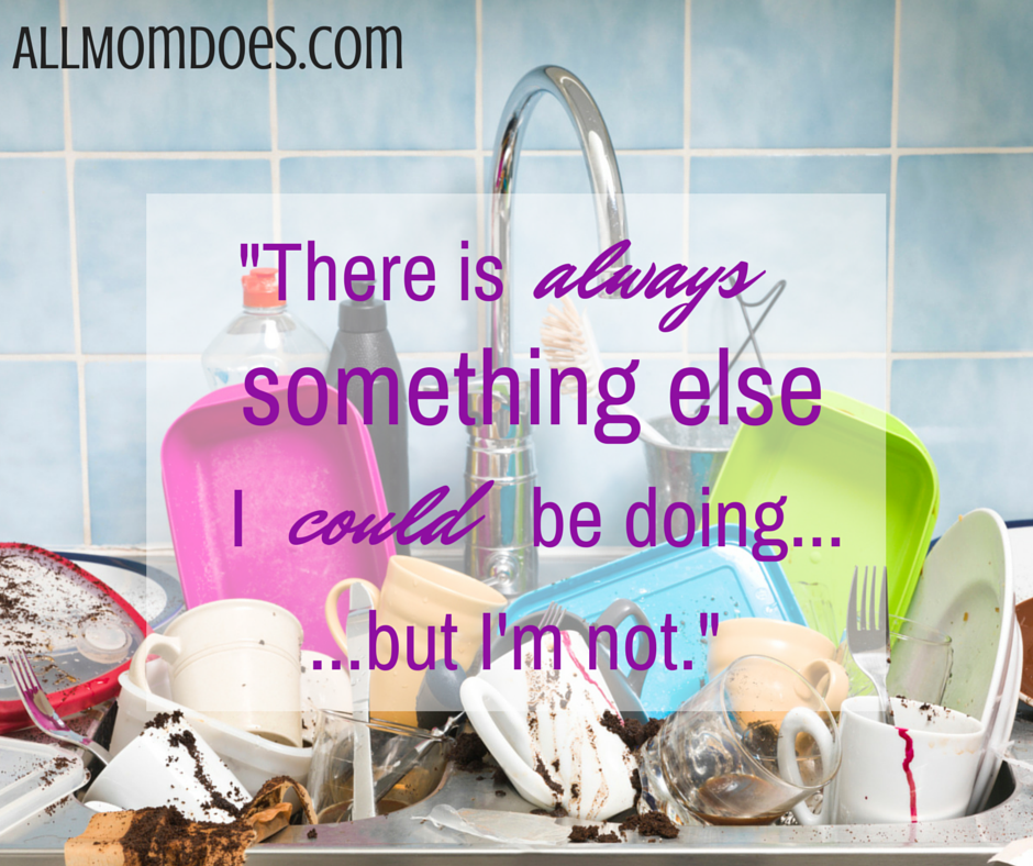 Mom Guilt is Unavoidable