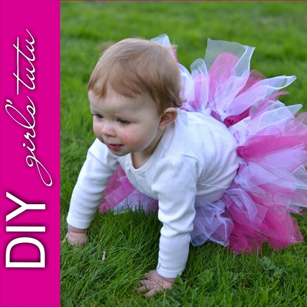 Just in Time for Easter – DIY Girl's Tutu!