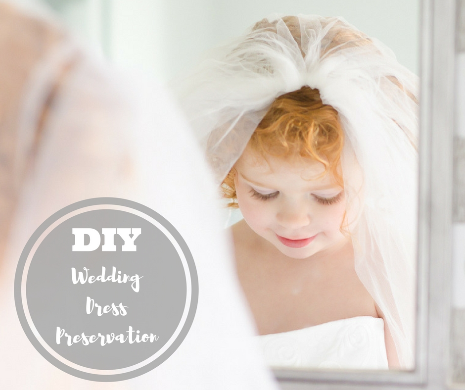 DIY Wedding Dress Preservation