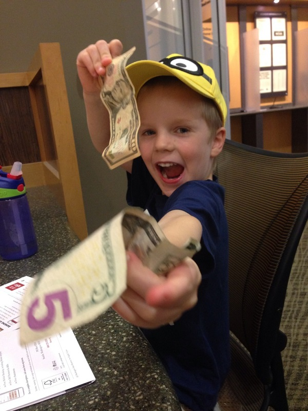 What Do You Do With YOUR Kids' Birthday Money?