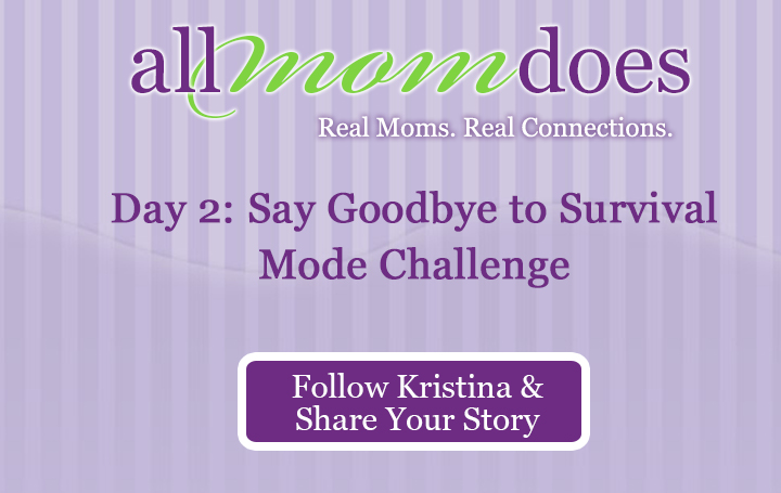 Day 2: Say Goodbye to Survival Mode Challenge