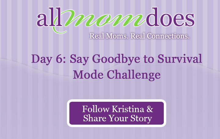 Day 6: Say Goodbye to Survival Mode Challenge