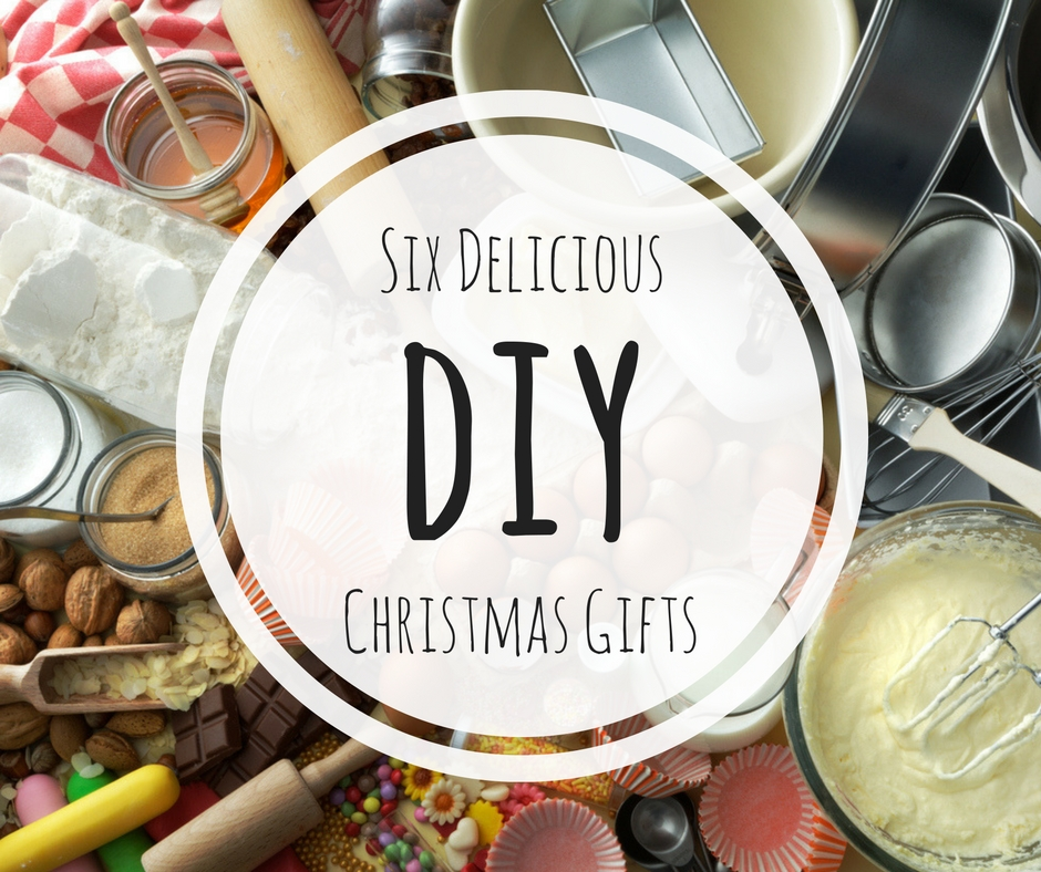 Six Delicious DIY Christmas Gifts