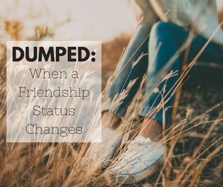 DUMPED: When a Friendship Status Changes
