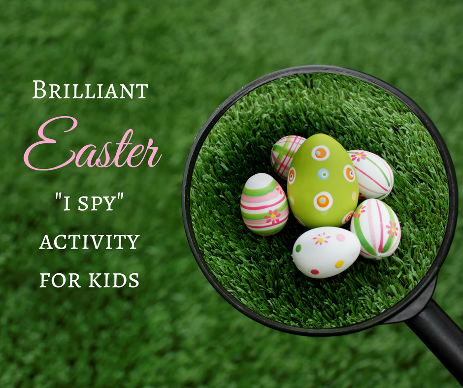 Brilliant Easter 'I Spy' Activity for Kids