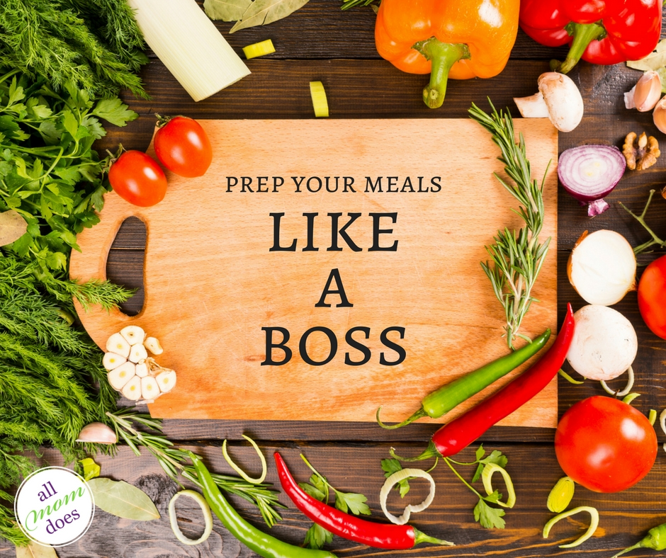 Prep Your Meals Like A Boss