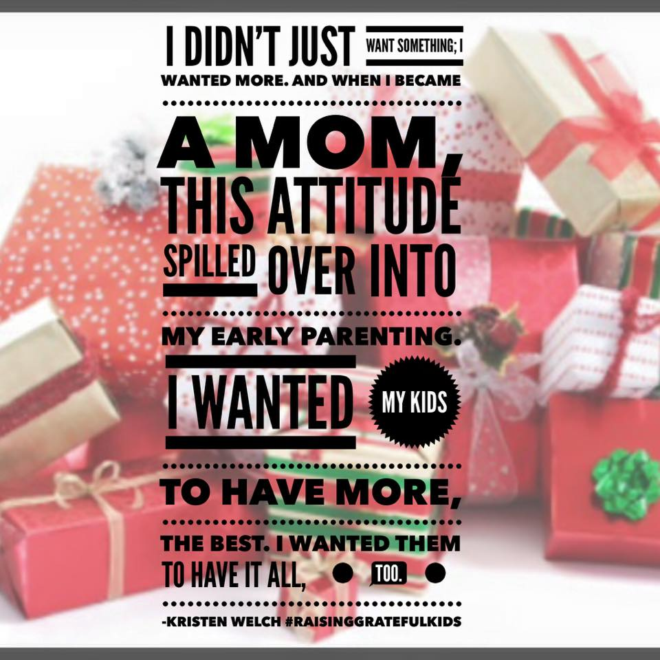 Monday Mom Confessions:  I'm Struggling to Cut Back This Christmas