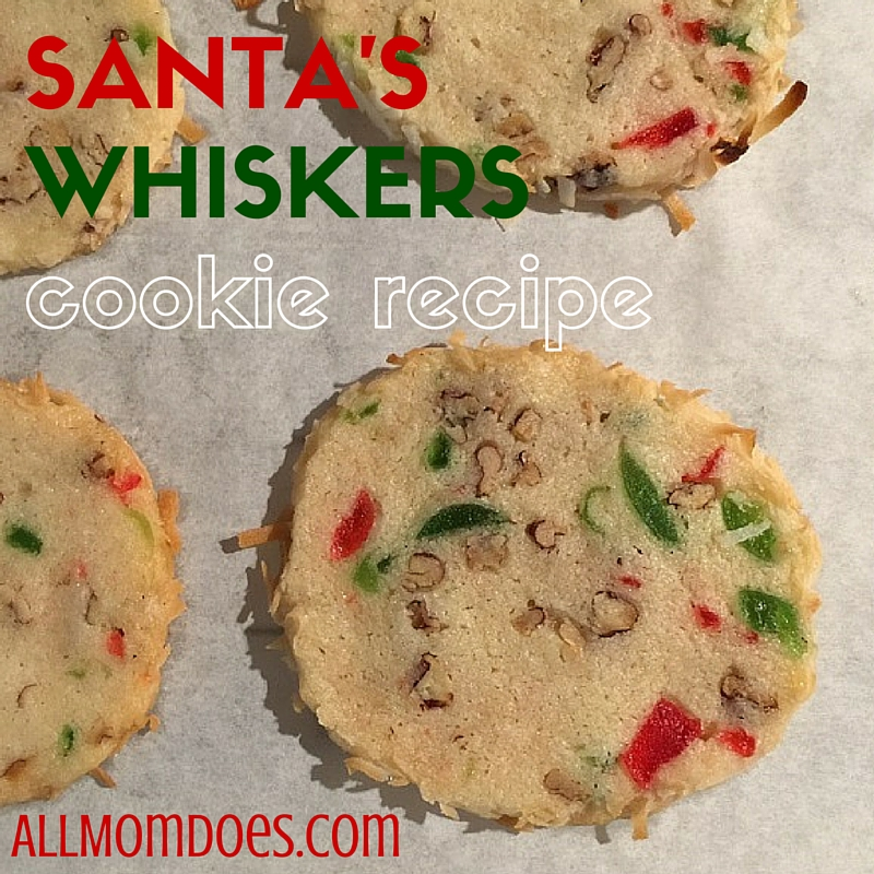 Cookie Recipe:  Santa's Whiskers