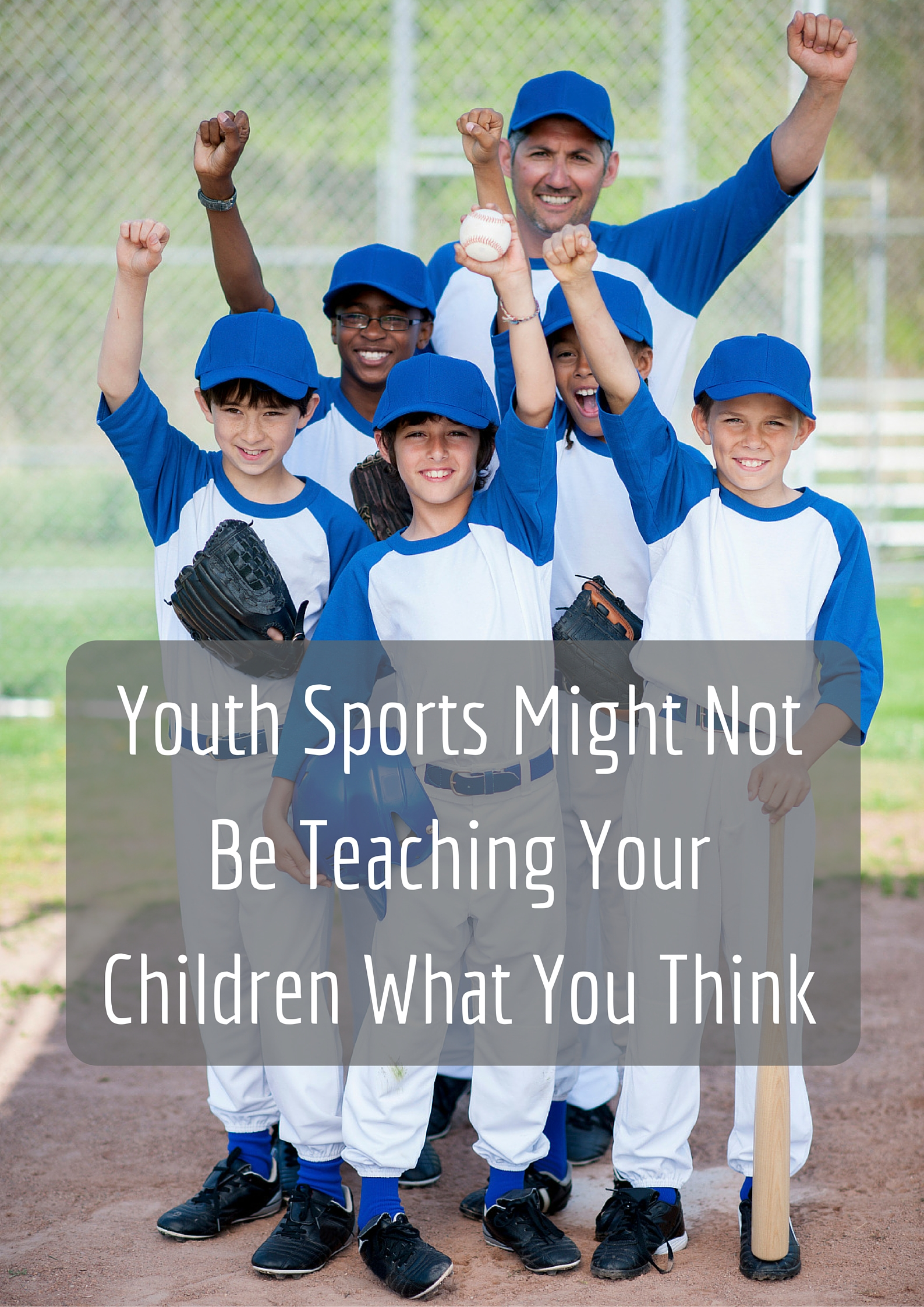 Youth Sports Might Not Be Teaching Your Children What You Think