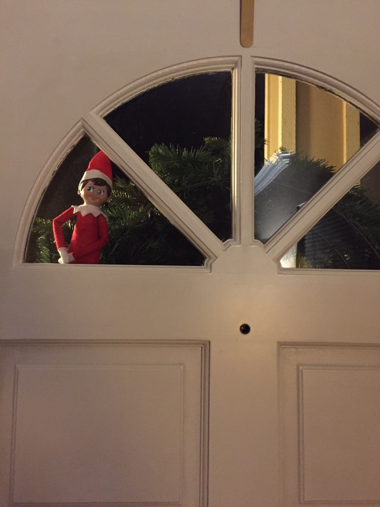 Our Elf on the Shelf is Coming Back...Again