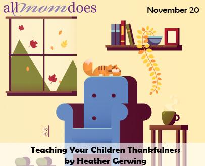 Teaching Your Children Thankfulness