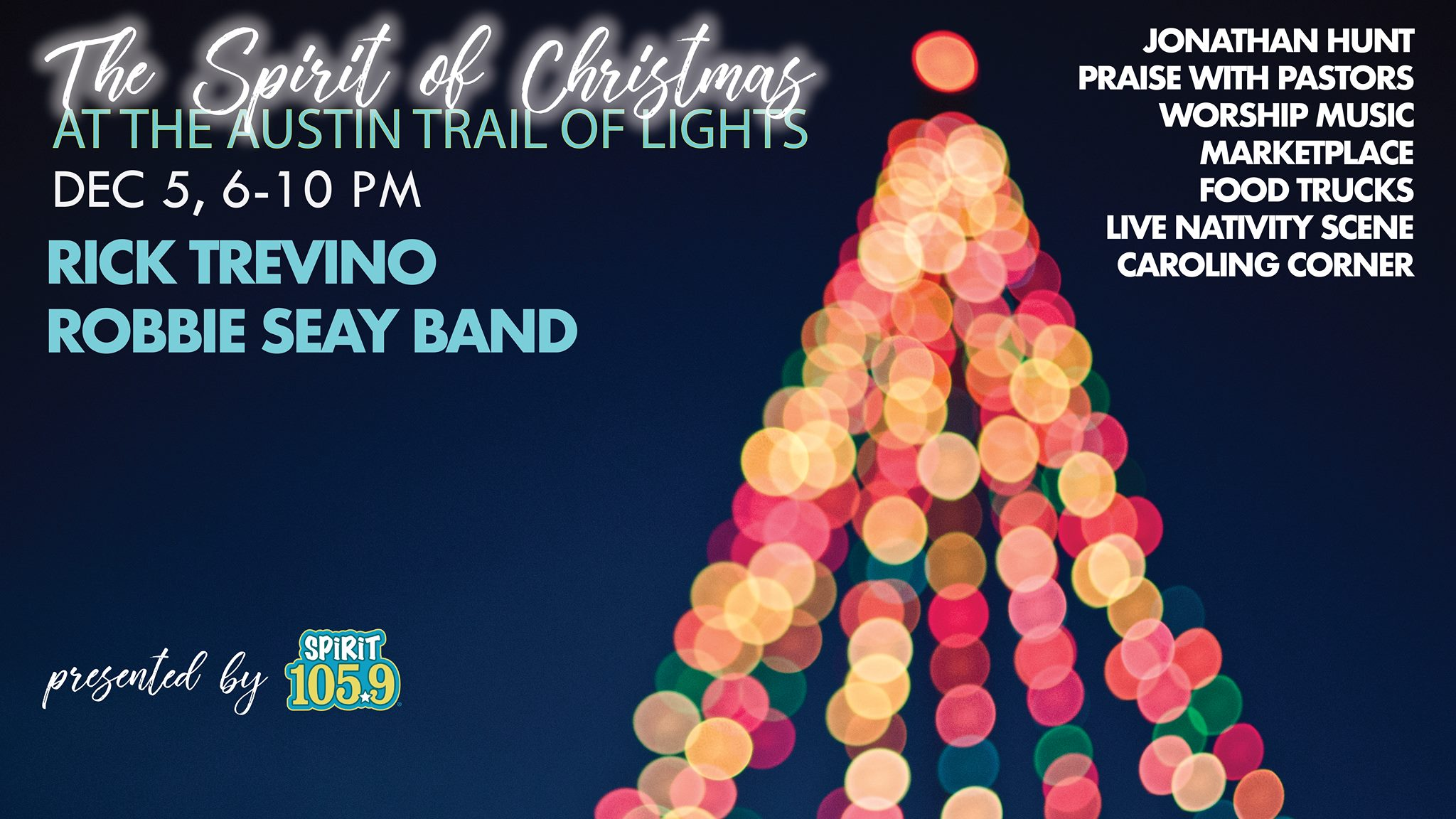 ENTER TO WIN! 2 VIP tickets to the SPIRIT of Christmas at Austin Trail of Lights