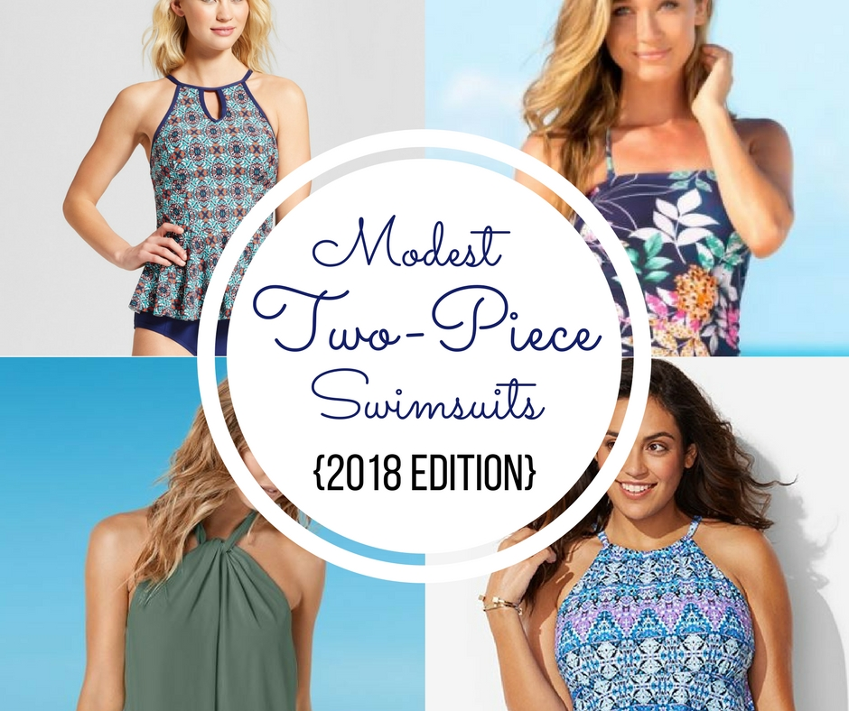 ddc283f6f1a2c 10 Modest Two-Piece Swimsuits {2018 Edition} | AllMomDoes