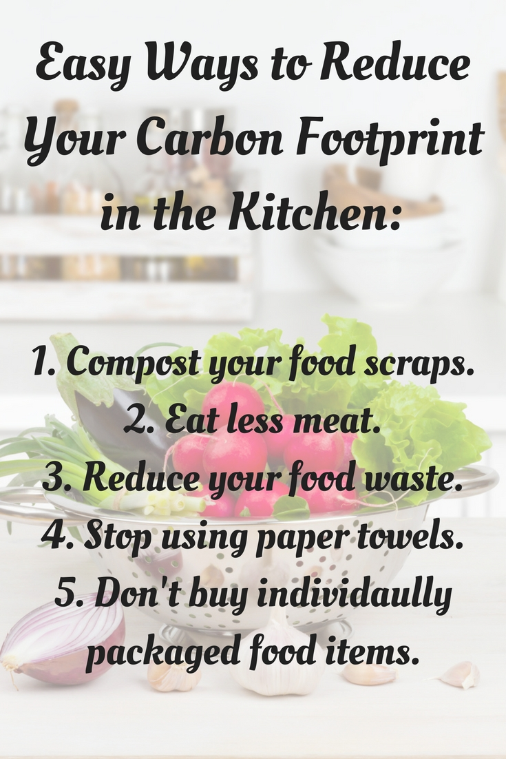 Simple Earth Day Ideas - Things you can implement in your home to help the planet. #earthday #foodwaste