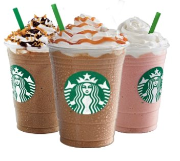 1/2 Price Frappuccinos on May 3rd at Starbucks