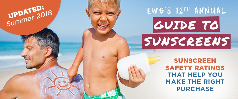 EWG's 12th Annual Guide to Sunscreens Released