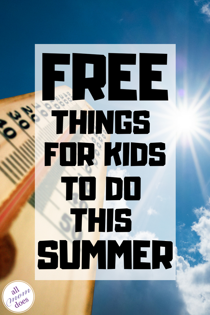 Free summer activities for kids #summer #free