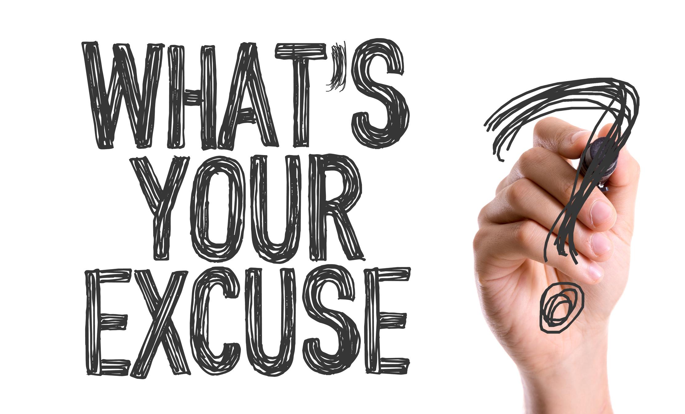 Zero Room For Excuses