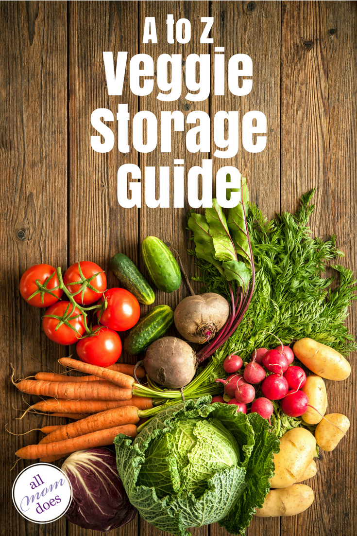 How to store your vegetables.