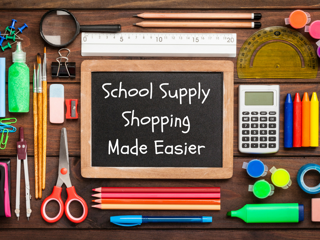 School Supply Shopping Resources