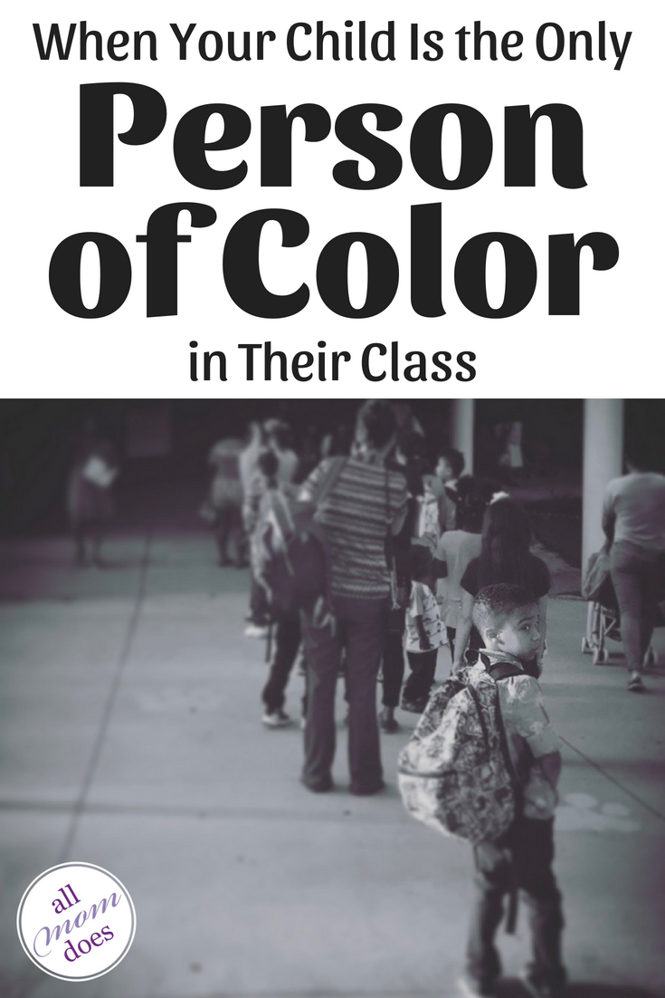 When Your Child Is The Only Person of Color in Their Class #backtoschool #race