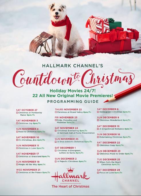 36 New Hallmark Christmas Movies Coming Your Way | allmomdoes