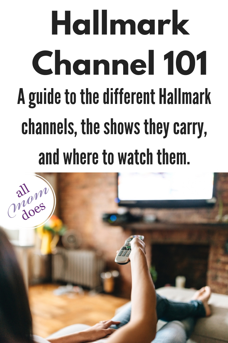 Explanation of the different #Hallmark channel options and how to watch them.