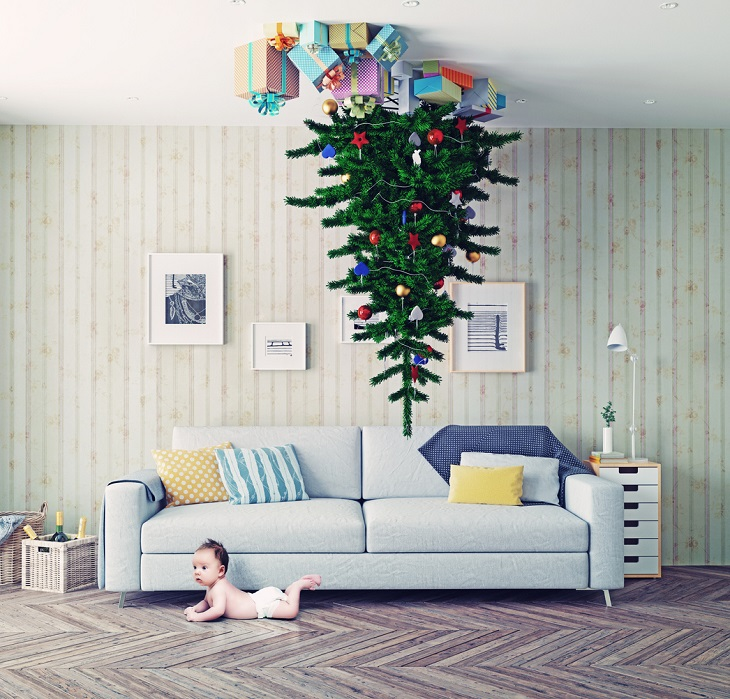 Toddler Proof Christmas Tree.Toddler Proof Christmas Trees Allmomdoes