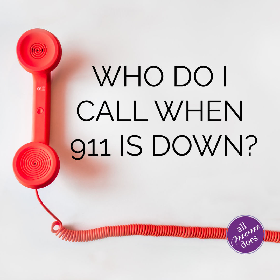 The Numbers You Need During 911 Outage *PRINTABLE*