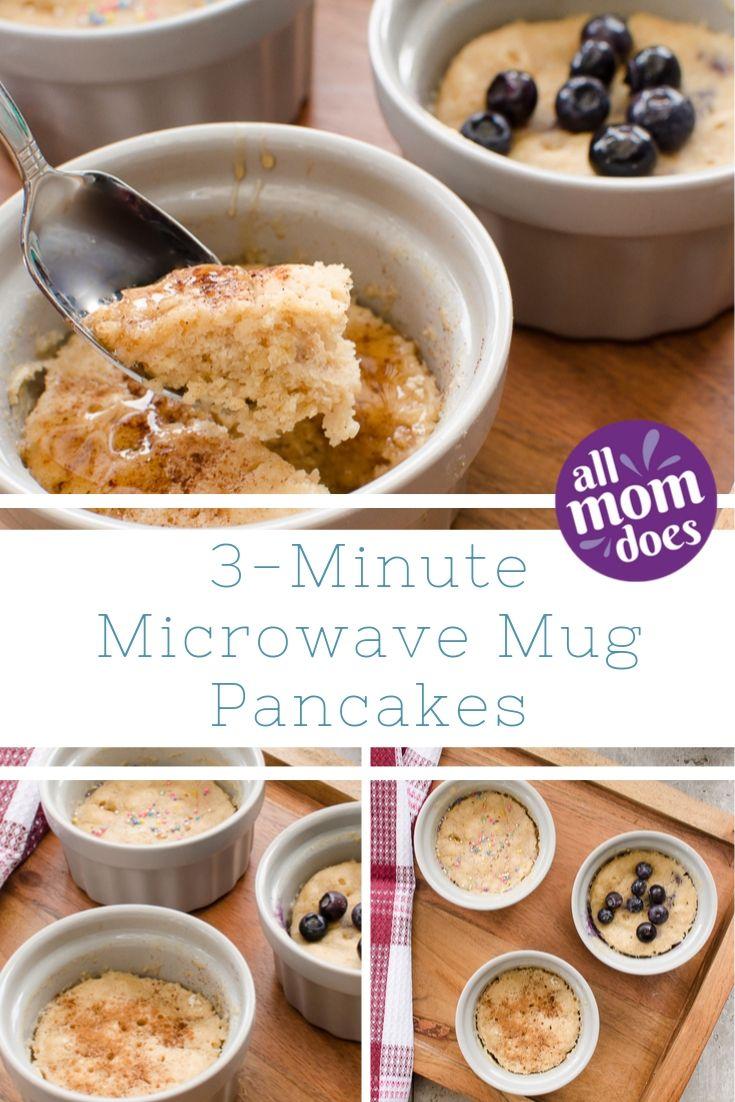 3 Minute Microwave Mug Pancake Allmomdoes